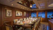 Yacht ATLANTICA -  Formal Dining